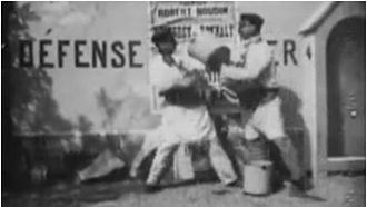 Post No Bills (1896 film) - Screenshot from the film