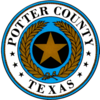 Official seal of Potter County