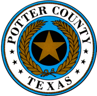 Potter County, Texas - Image: Potter County, Texas seal