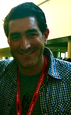 Robert Hull - Hull at the 2012 San Diego Comic Con