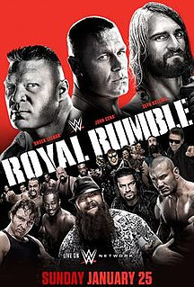 Royal Rumble (2015) 2015 WWE pay-per-view and WWE Network event