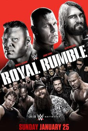 Royal Rumble (2015) - Image: Royalrumble 2015updated