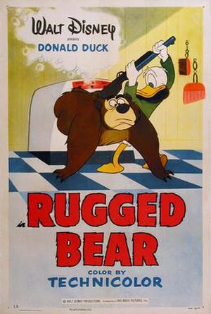 Rugged Bear - Theatrical release poster