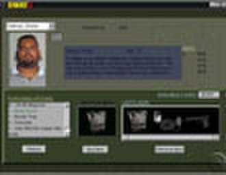 Police Quest: SWAT 2 - The bio page for a terrorist.