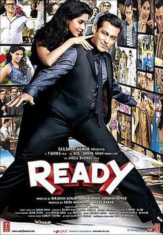 Ready (2011 film) - Theatrical release poster