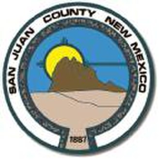 San Juan County, New Mexico - Image: San Juan County NM seal