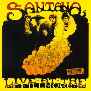 Live at the Fillmore 1968 - Image: Santana Live Fillmore