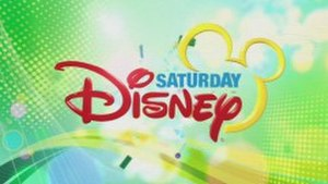 Saturday Disney - Saturday Disney title card used from 31 March 2012 onwards