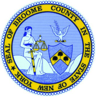Broome County, New York - Image: Seal of Broome County, New York