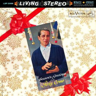Season's Greetings from Perry Como - Image: Seasons greeting