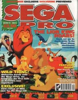 <i>Sega Pro</i> magazine