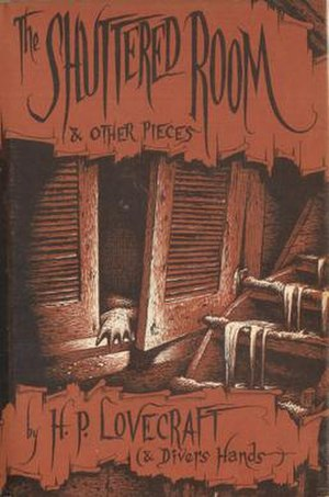 The Shuttered Room and Other Pieces - Jacket illustration by Richard Taylor for The Shuttered Room and Other Pieces