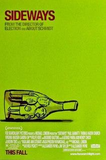 <i>Sideways</i> 2004 comedy-drama film directed by Alexander Payne