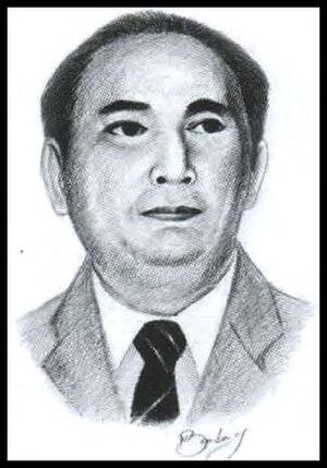 Sahardjo - Image: Sketch of Sahardjo