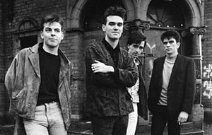 The Smiths in 1985.