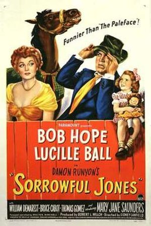 Sorrowful Jones - 1949 movie poster