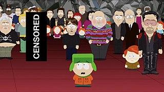 201 (<i>South Park</i>) 6th episode of the fourteenth season of South Park