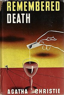 <i>Sparkling Cyanide</i> Novel by Agatha Christie