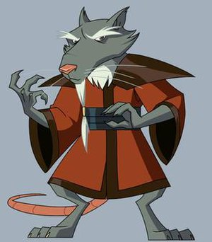 Splinter (Teenage Mutant Ninja Turtles) - Splinter in the 2008 season of TMNT