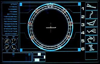 Stargate (device) - The SGC's Dialing Computer compiling the address of the planet Abydos.