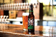 The nine year round beers produced by stone brewing company