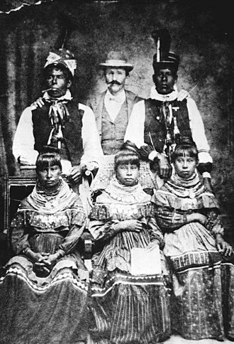 History of Fort Lauderdale, Florida - Will Stranahan (Frank's brother) with Seminole Indians
