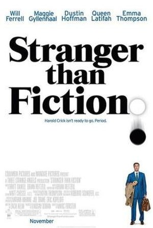 Stranger than Fiction (2006 film) - Theatrical release poster