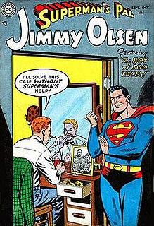 <i>Supermans Pal Jimmy Olsen</i> Comic book series