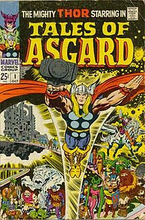Asgard (comics) Fictional realm in the Marvel Comics universe