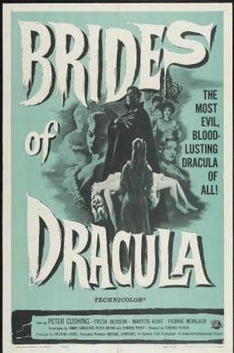 The Brides of Dracula - Theatrical release poster