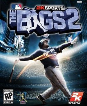 The Bigs 2 - North American cover for the Xbox 360