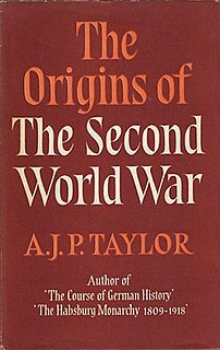 <i>The Origins of the Second World War</i> book by A.J.P. Taylor