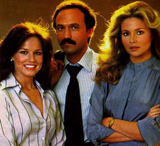 The American Girls (TV series) - Left to right: Debra Clinger, David Spielberg and Priscilla Barnes