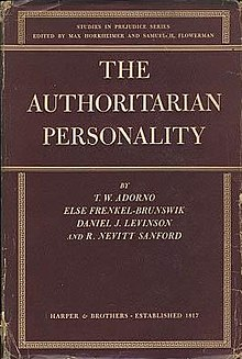 The Authoritarian Personality Wikipedia