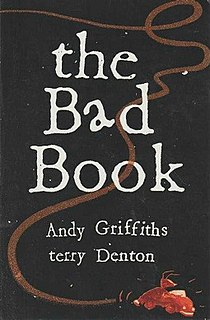 <i>The Bad Book</i> collected stories by Andy Griffiths