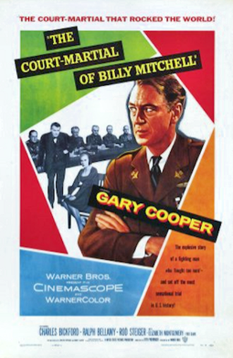 The Court-Martial of Billy Mitchell - 1955 theatrical poster