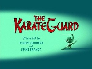 The Karate Guard - Title Card