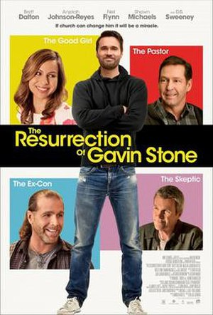 The Resurrection of Gavin Stone - Theatrical release poster