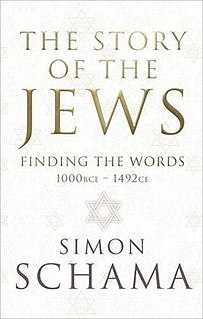 <i>The Story of the Jews</i> (book) book by Simon Schama
