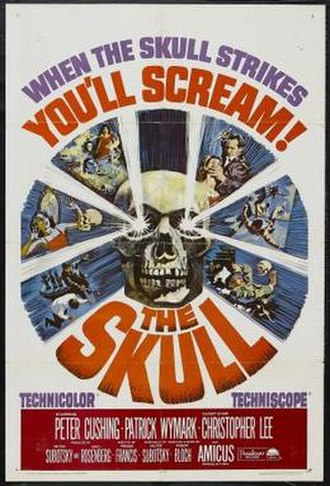 The Skull - Theatrical release poster