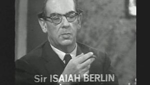 The Trap (TV series) - Archive interview with Isaiah Berlin