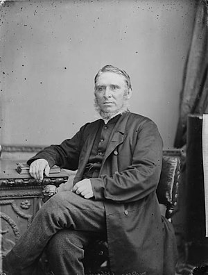 Thomas Rees (Congregational minister) - Thomas Rees (by John Thomas, 1875)