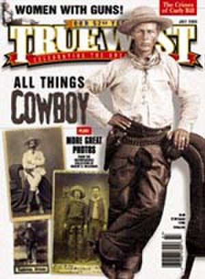True West Magazine - Cover of True West, July 2005