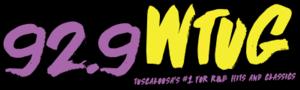 WTUG-FM - Image: WTUG 92.9 logo