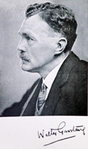 Walter Garstang - Image: Walter Garstang