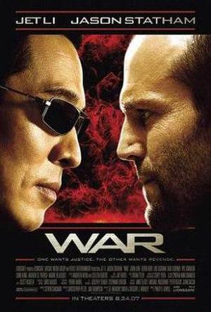 War (2007 film) - Image: Warposter