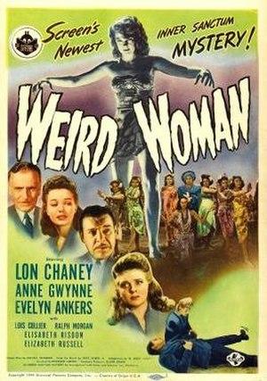 Weird Woman - Poster