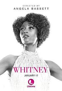 <i>Whitney</i> (2015 film) 2015 television film directed by Angela Bassett