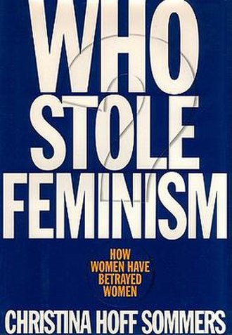 Who Stole Feminism? - Cover of the first edition