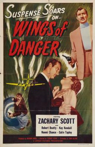 Wings of Danger - Theatrical release poster